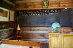 Historic Strawberry Schoolhouse - dunce chair in the corner