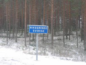 Border of Sweden