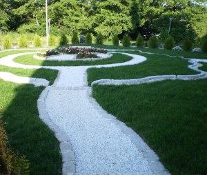 Meditationsträdgården till moskén i Fittja, Botkyrka. Fotograf: Artikelförfattaren I.D.