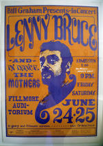 Lenny Bruce-Bill Graham Presents