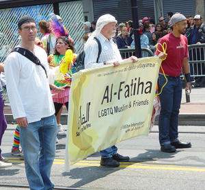 Al-Fatiha Muslim Gays - Gay Parade 2008 in San Francisco