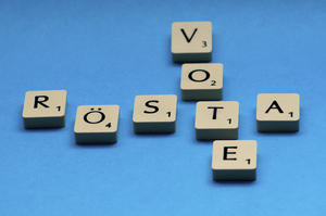 Rösta/vote
