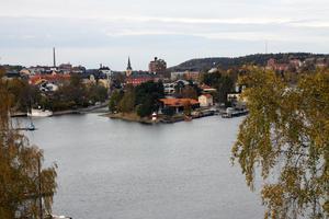 Utsikt från Marenhill i Södertälje