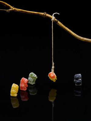 Jelly baby lynch mob