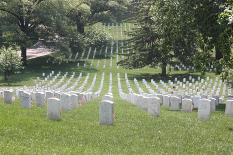 More than 250,000 flags placed at Arlington