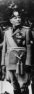 Benito Mussolini in 1937