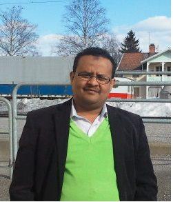 Mekeyu Ibrahim Hassen, journalist, utbildad på universitet i Etiopien