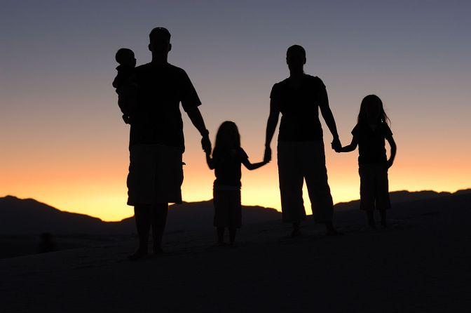 Den negativa bilden av den invandrade familjen