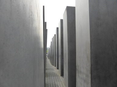 Förintelse-monumentet i Berlin