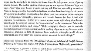 Metalogicon av John av Salisbury, 1159. (klicka på bilden för att förstora den)