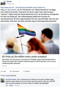 HBTQ-frågor i fokus?