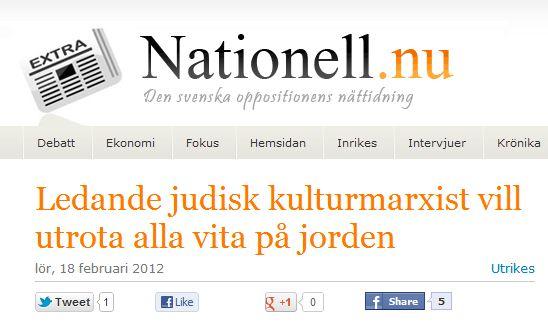 """Det där om ordet """"kulturmarxism"""", Frankfurtskolan och nazistisk retorik…"""