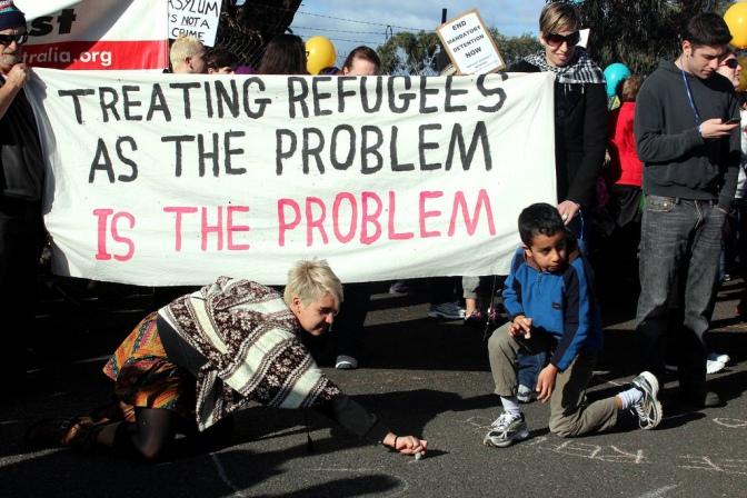 Myt: Alla flyktingar är unga män