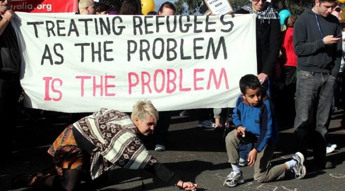 Åkesson (SD) vill ha totalstopp på flyktinginvandring