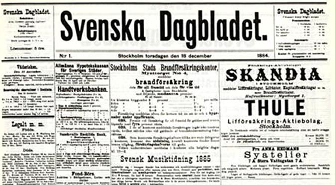 Svenskans historierevision