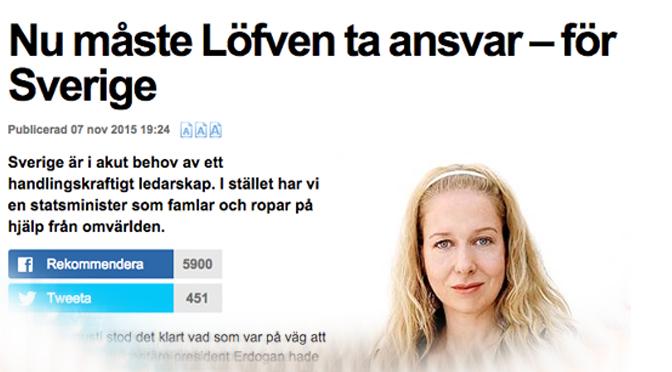 Anna Dahlbergs åtgärdslista för minskat söktryck