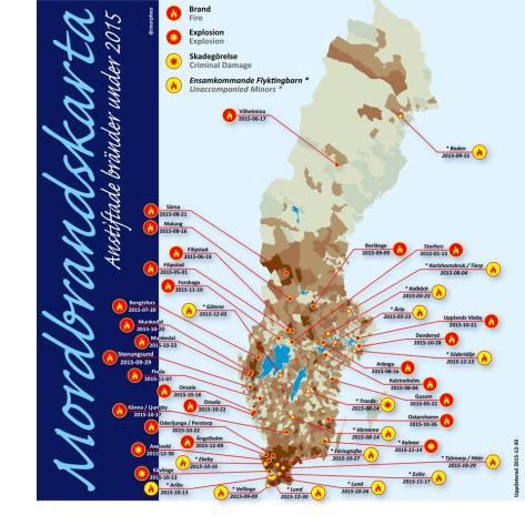 Attentat mot flyktingförläggningar 2015