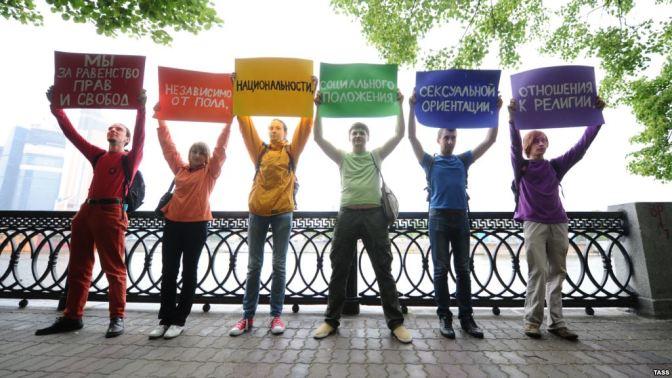 Ryssland och den kriminella homosexualiteten