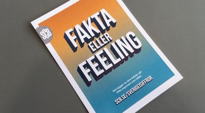 #Almedalen2016: Fakta eller feeling – vad bygger du dina åsikter på?