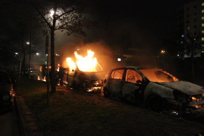 Barn som bränner bilar – deras föräldrar måste redan betala