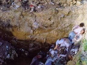 Massgraven i den bosniska staden Brcko 1992