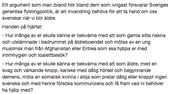 Annelie Sjöbergs text, del 2