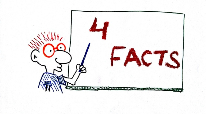 Fakta är fakta, men slutsatsen kan fortfarande vara rasistisk