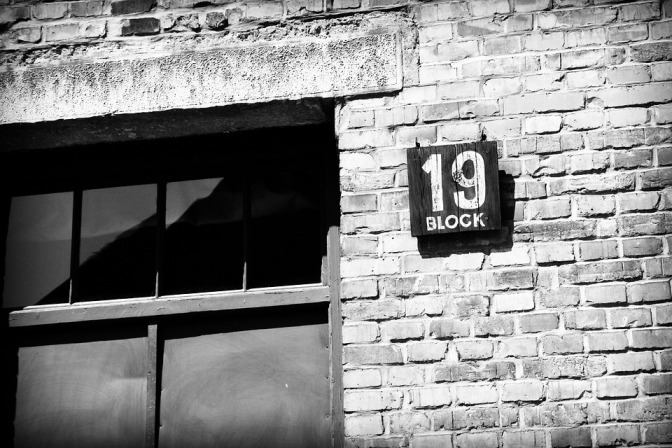 Block 19 Nazism Poland Auschwitz Concentration Camp