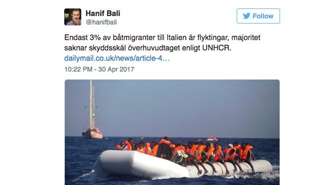 Bali, Breitbart och båtflyktingarna