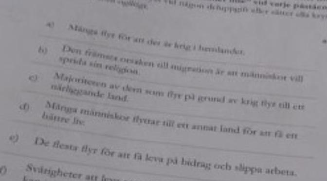 Sverigedemokraters känsla för samhällskunskap