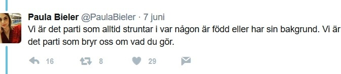 SD ljuger om sin politik