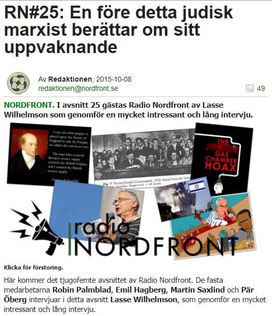 Personer i debatten: Stefan Lindgren
