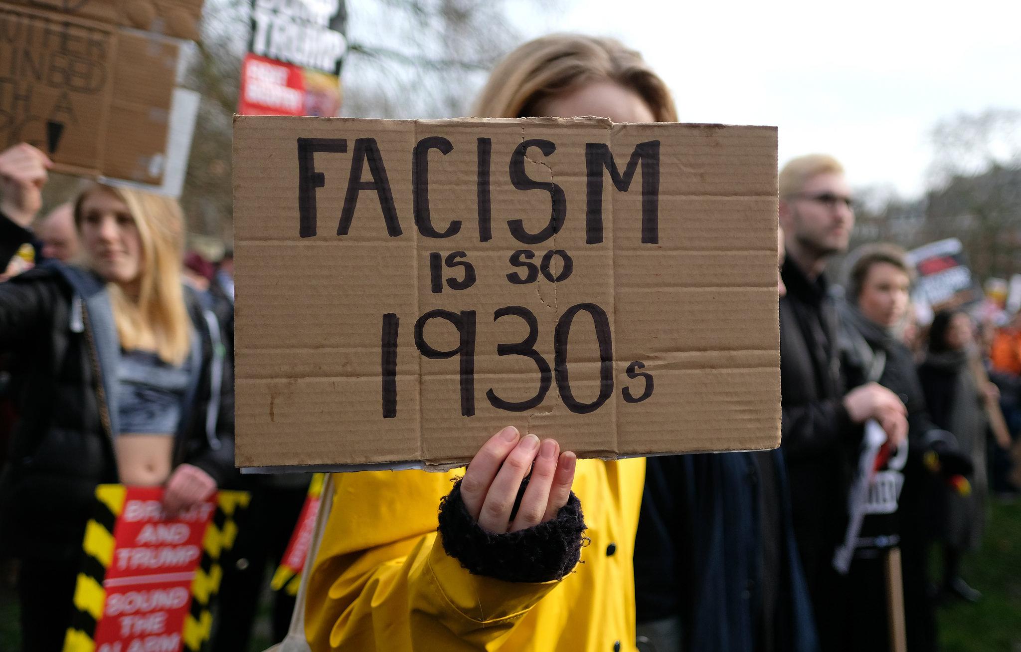 """""""Fascism är så gammaldags"""". Ett budskap som biter, eller?"""