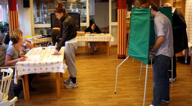 Sverige fick ALLMÄN rösträtt 1989