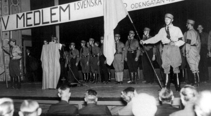 SD och nazisterna på Stureplan 1939