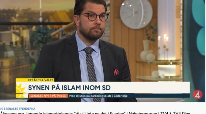 SD och synen på islam